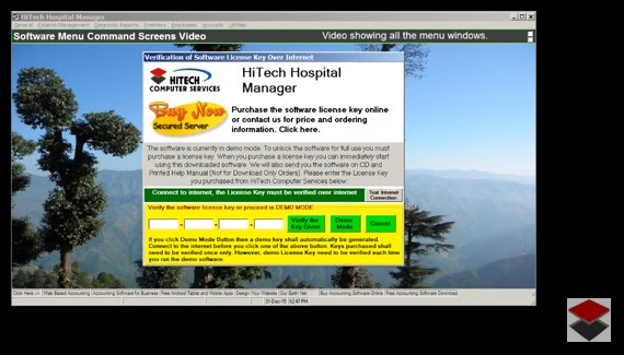 HiTech Hospital Manager, Accounting Software for Hospitals, Business Management and Accounting Software for hospitals, nursing homes, diagnostic labs. Modules : Rooms, Patients, Diagnostics, Payroll, Accounts & Utilities. Free Trial Download.